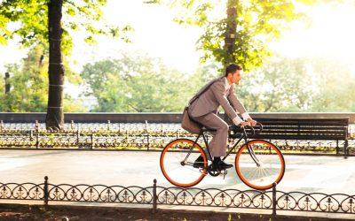 """""""Mir ist es eingefallen, während ich Fahrrad fuhr."""""""
